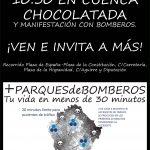 Manifestación «+PARQUESdeBOMBEROS». Jueves 16 de marzo