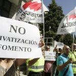 Acuerdo con la Consejería de Fomento para la reapertura del Parque de El Pedernoso (CU), privatizado por Cospedal.
