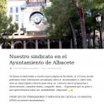 La página de facebook de STAS-CLM en el Ayuntamiento de Albacete cumple 1 año
