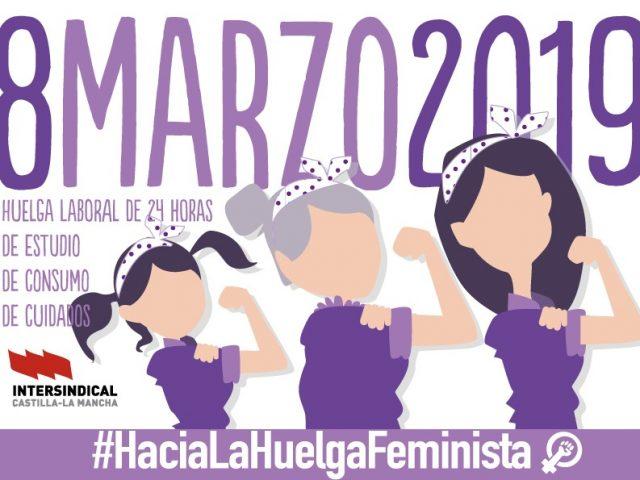 8 MARZO: Huelga laboral de 24 horas-Concentraciones y Manifestaciones en las distintas provincias