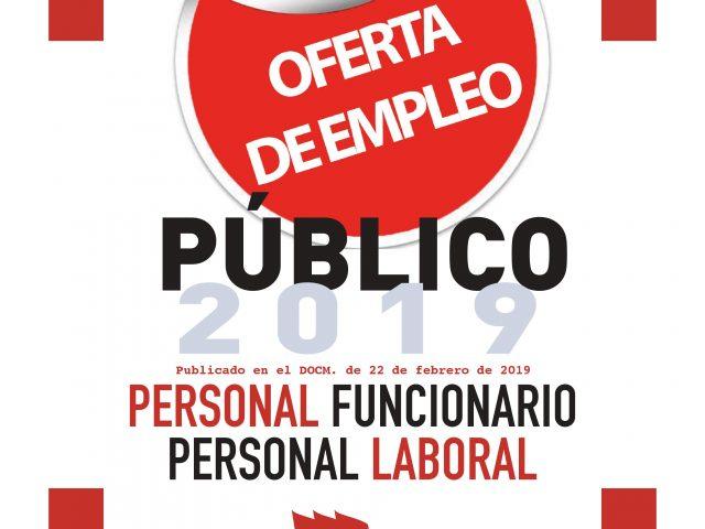 TODA LA INFORMACIÓN DE LA OFERTA DE EMPLEO PÚBLICO 2019 FUNCIONARIOS Y LABORALES