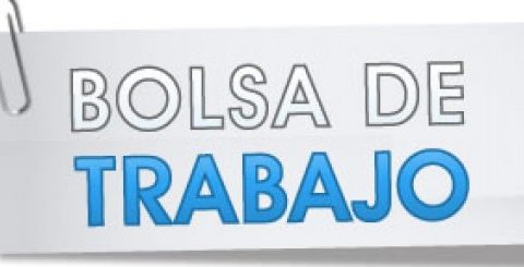 BOLSAS DE TRABAJO   Actualización Personal Laboral