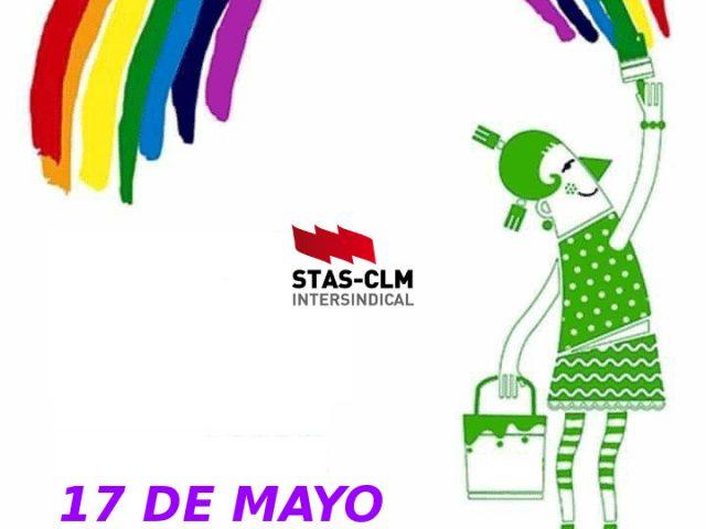 17 MAYO: Día Mundial contra la LGTBIfobia