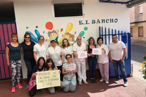 TERCERA JORNADA DE MOVILIZACIONES EN LAS ESCUELAS INFANTILES CONTRA EL ABANDONO DE LA JUNTA. (Galería de fotos)