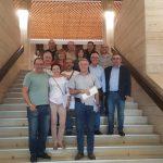 Foto de familia del equipo de compañeros y compañeras que participaron en estas Elecciones Sindicales 2019 celebradas ayer 6 de junio