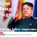 CELEBRITIES: KIM JONG PAGE