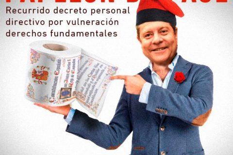 STAS recurre el Decreto de personal directivo, por vulneración de derechos fundamentales.