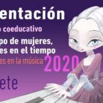 Presentación del Calendario «Tiempo de Mujeres, Mujeres en el Tiempo 2020»: Mujeres en la Música