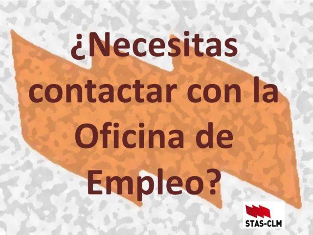 ¿Necesitas contactar con la Oficina de Empleo?
