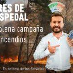 Aires de Cospedal en plena campaña de incendios