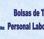 BOLSAS DE TRABAJO. ACTUALIZACIÓN. Personal laboral