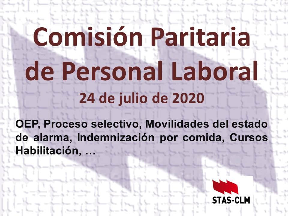 Comisión Paritaria JCCM