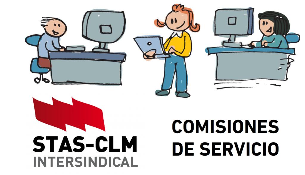 Comisiones de Servicio JCCM