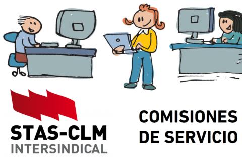 COMISIONES DE SERVICIO   Oferta de puestos Personal Funcionario