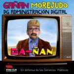 GAÑÁN DEL MES   Juan Ángel Morejudo Flores, DG de Administración Digital
