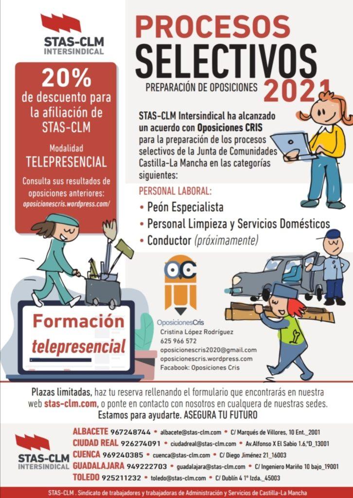 Oposiciones Personal Laboral JCCM