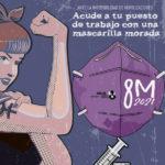 🟣 MANIFIESTO 8M | El feminismo es la cura: Contágiate y propágalo. Vacúnate contra el machismo.