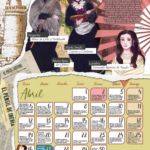 🟣 CALENDARIO MUJER 2021 | Abril, escritoras de los siglos XVIII y XIX