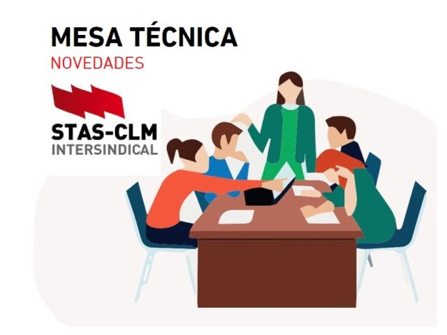 ⭕ EMPLEO PÚBLICO   Convocada Mesa Técnica de Educación. 2 de agosto de 2021