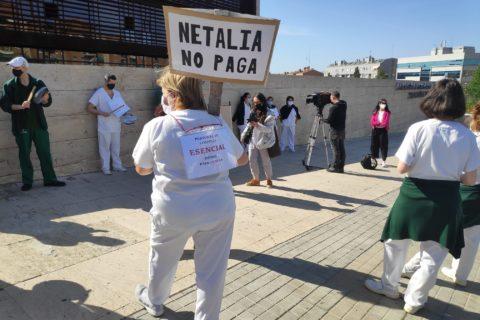 ✊ MOVILIZACIONES | Solidaridad con las compañeras/os de limpieza de NETALIA