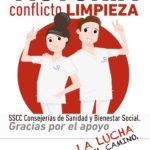 ✊ ¡VICTORIA! | Conflicto Sv. de Limpieza en los SS.CC. de las Consejerías de Sanidad Y Bienestar Social