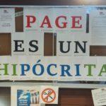 📰  NOTA INFORMATIVA  | Page es un hipócrita